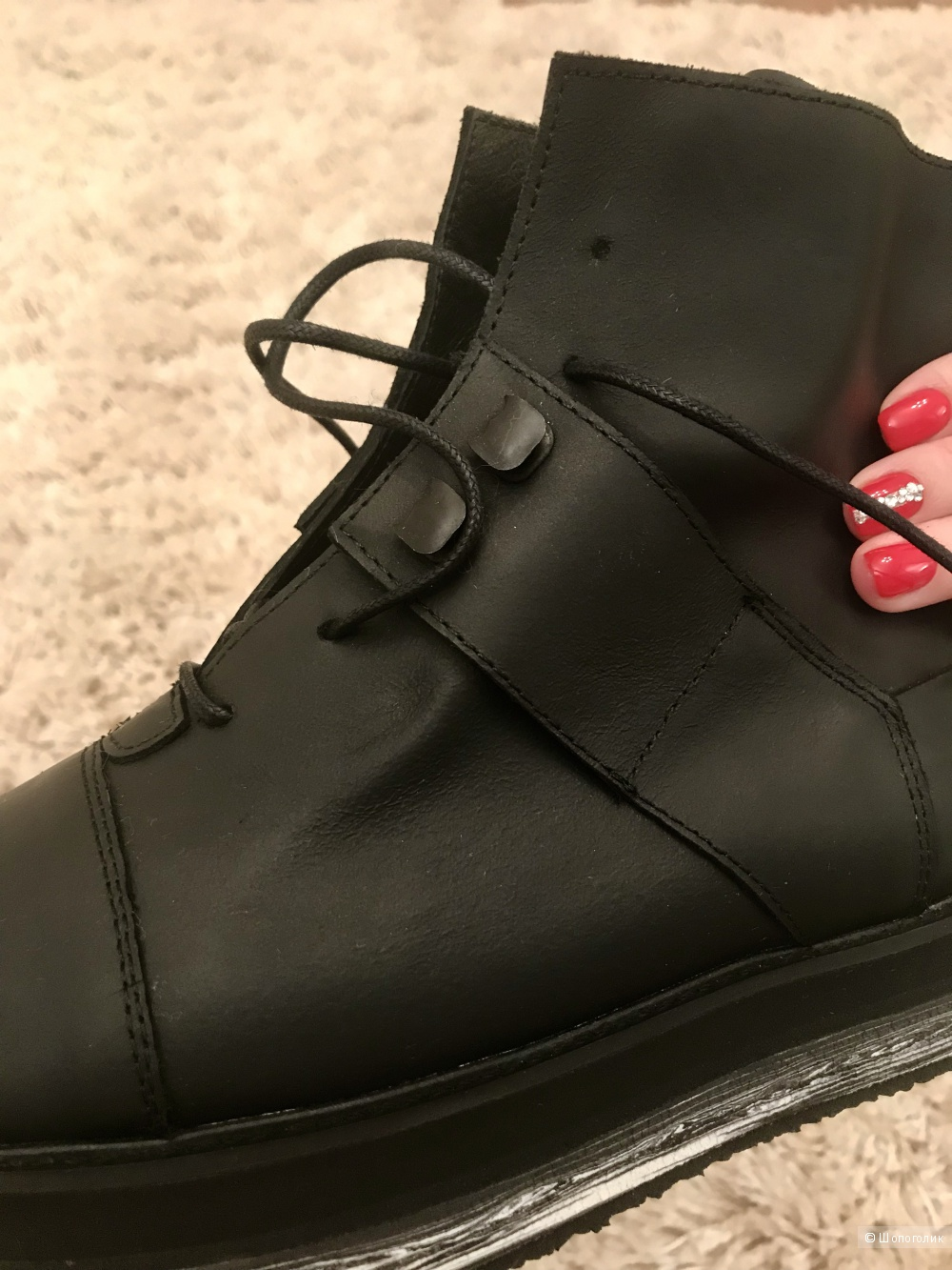 Кожаные ботинки FAREWELL FOOTWEAR, 36-37 размер
