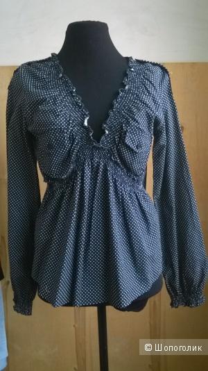 """Рубашка блуза """"Venezia""""   р.42( на 46-48)"""