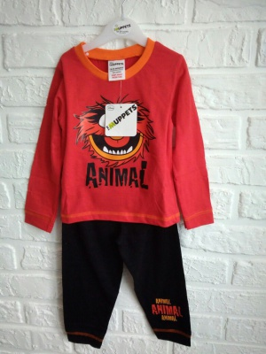 Детский комплект The muppets, размер 92-104