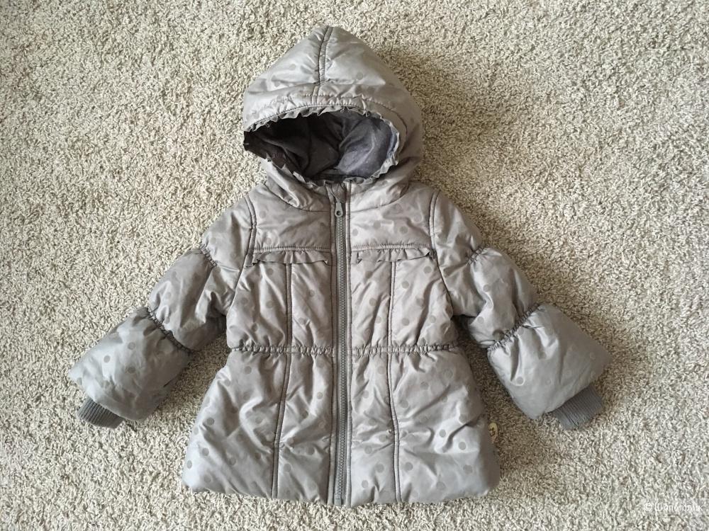 Две курточки Pomp de lux 86-92p