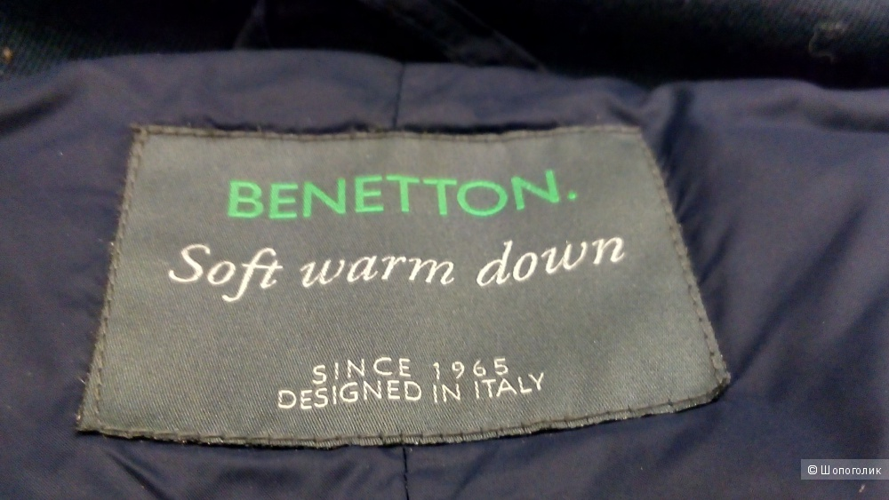 Пуховик benetton размер 40it