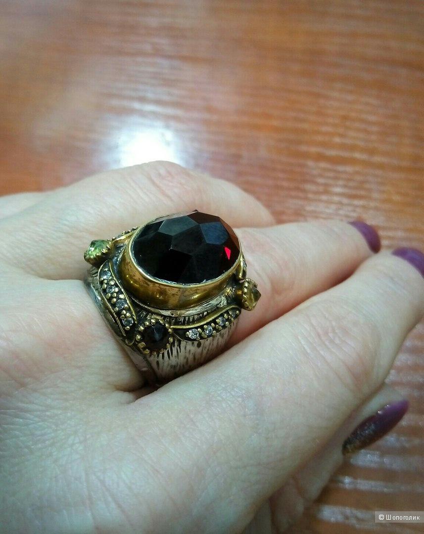 Серебряное кольцо, р.18