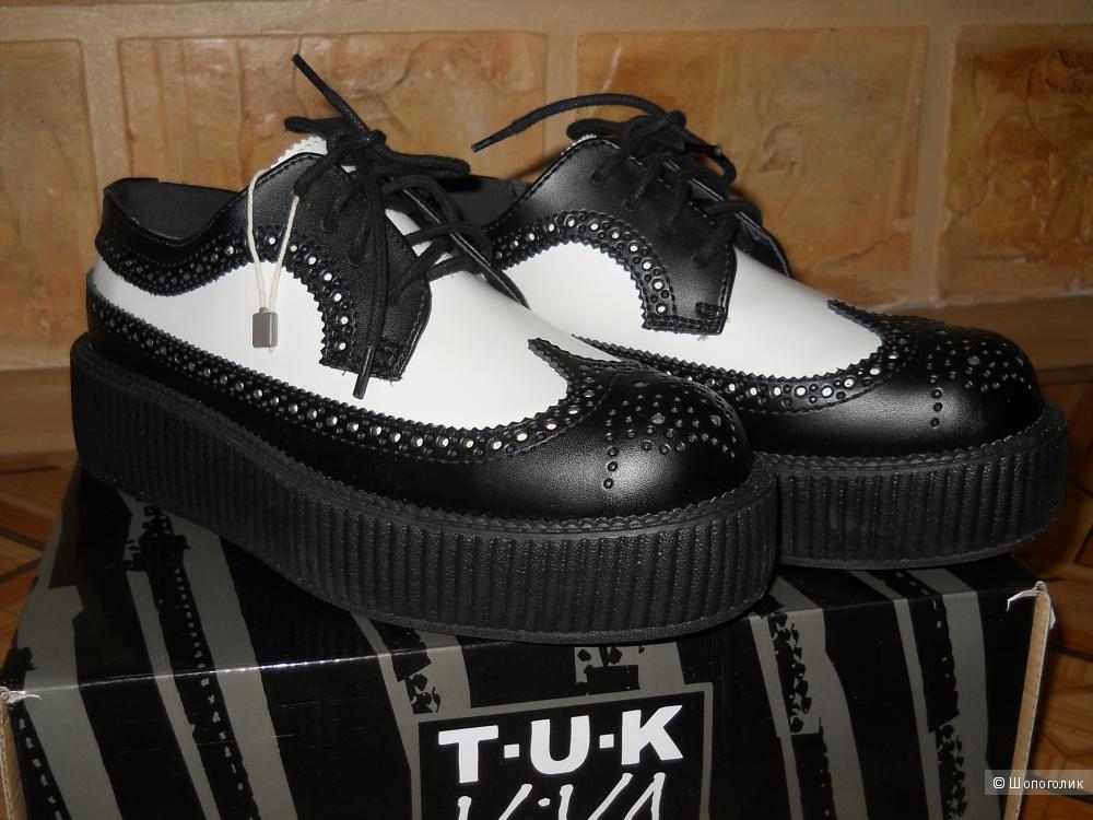 Ботинки T.U.K, 39 размер