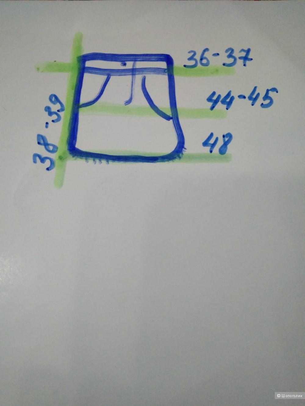 Джинсовая юбка, F&F, 28