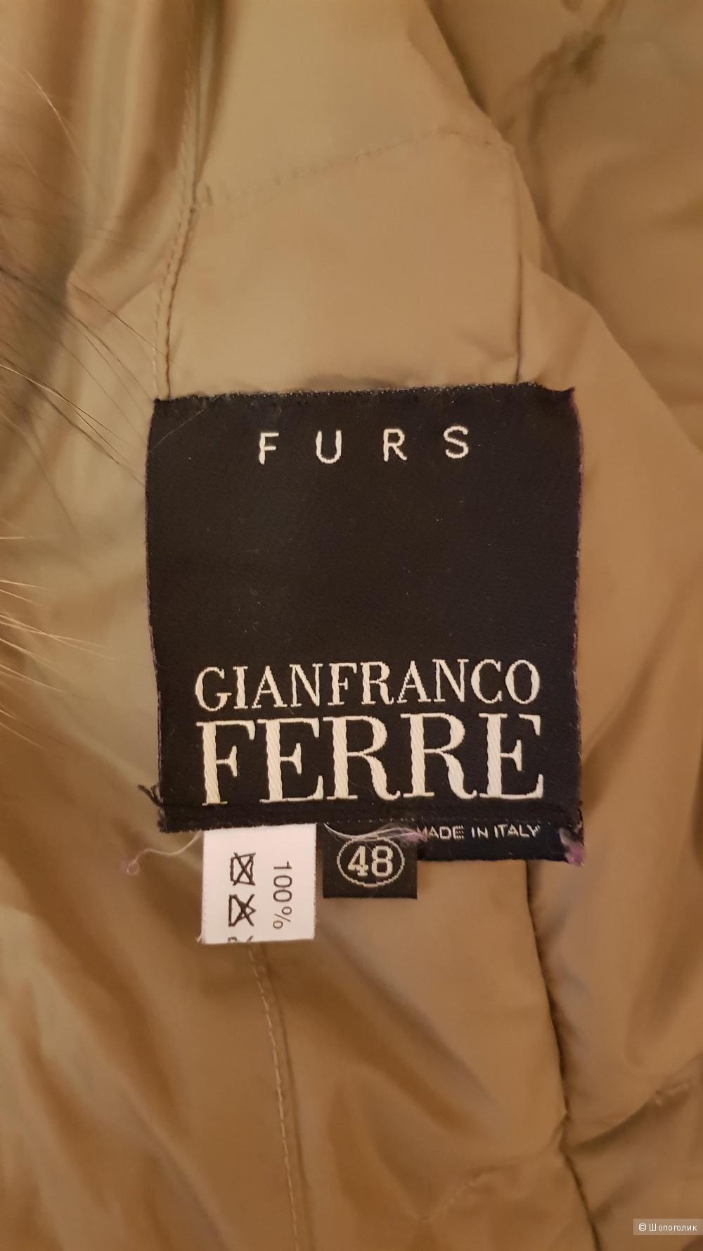 Пуховик, Gianfranco Ferre , 48 ит. размер