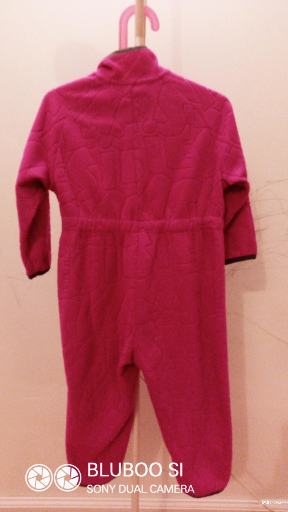 Детский флисовый комбензон фирмы Lassia, 86 размер