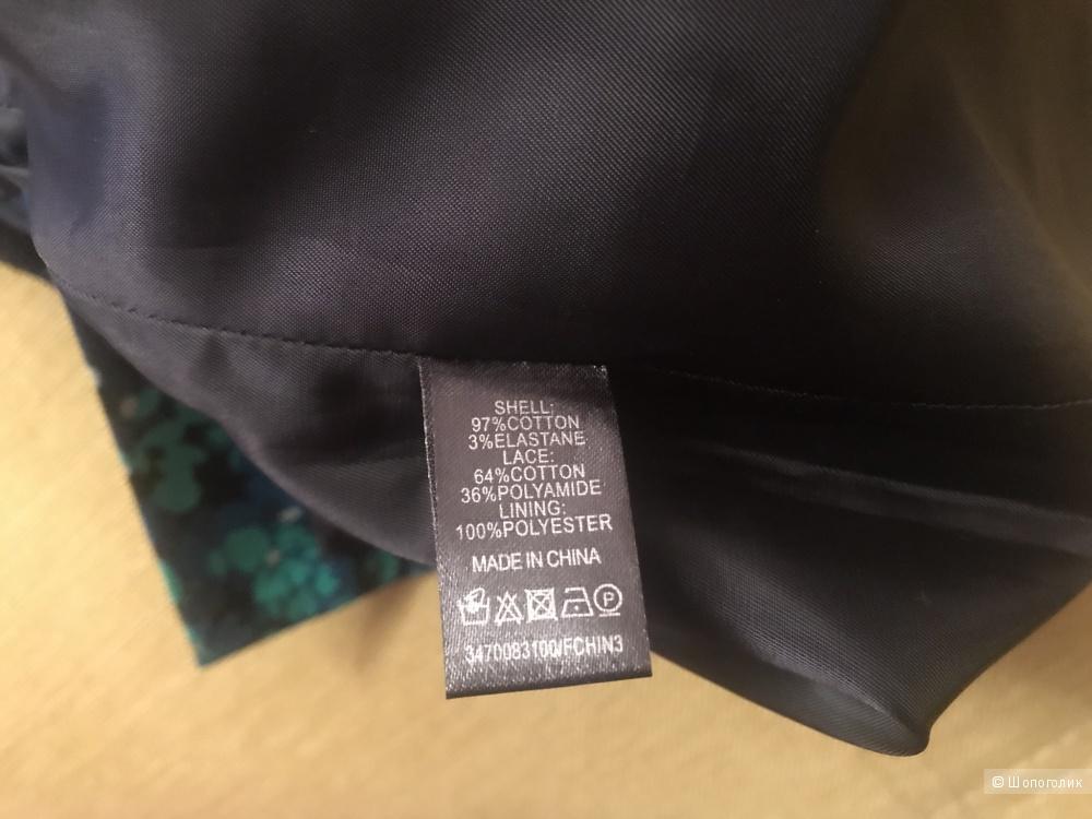 Юбка с кружевом Oasis размер 12uk