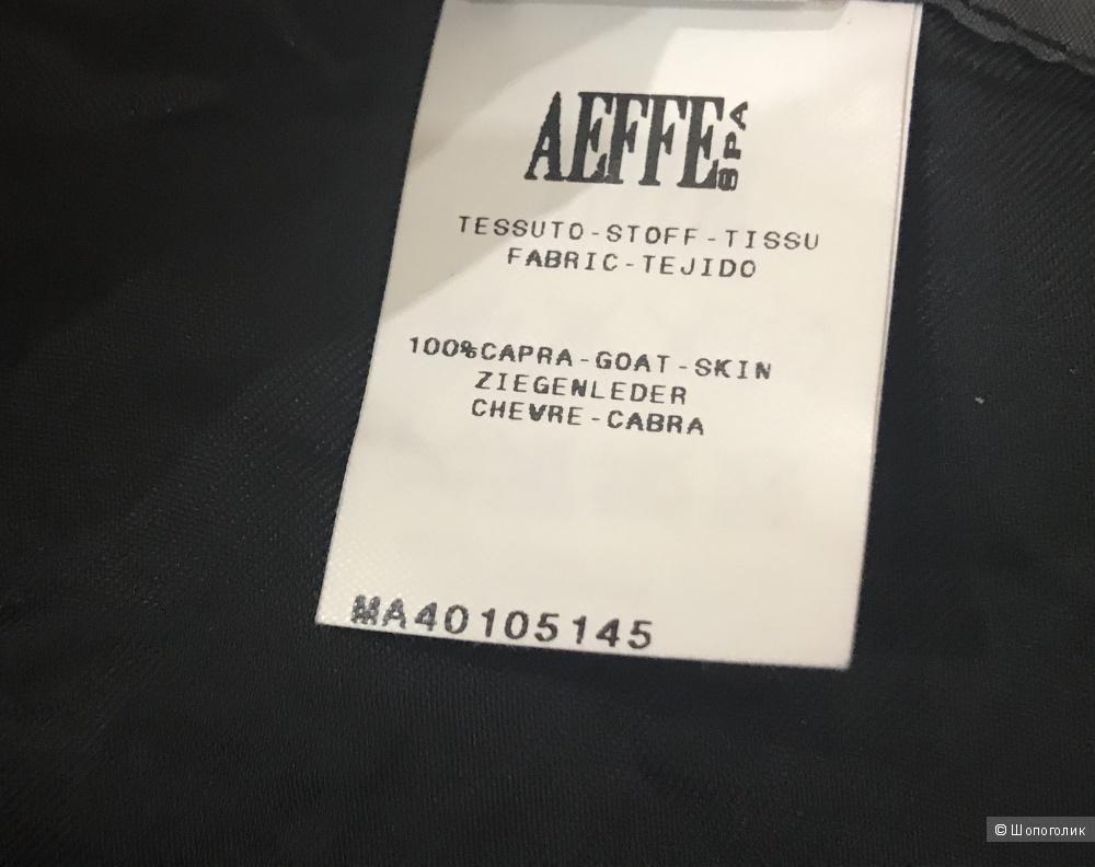 Юбка Alberta Feretti, натуральная кожа, размер 42-44.