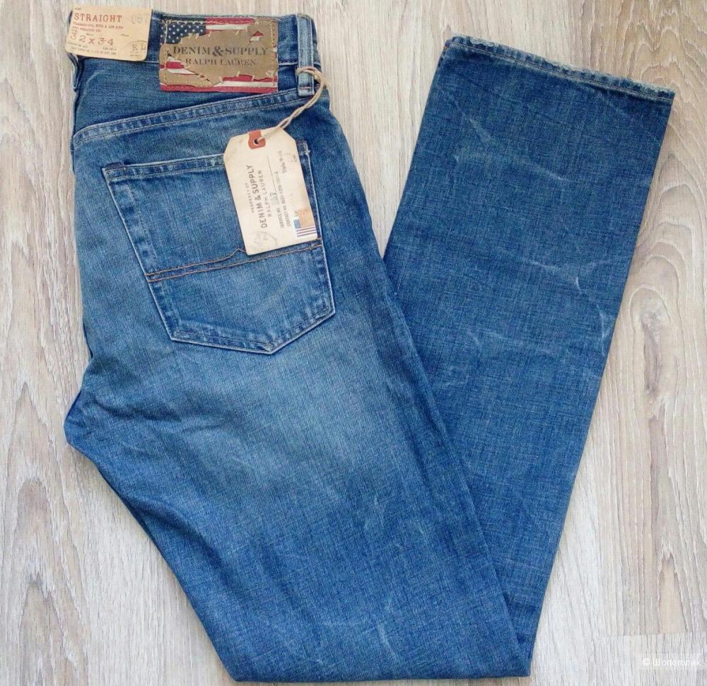 Джинсы мужские Ralph Lauren, размер 32/34
