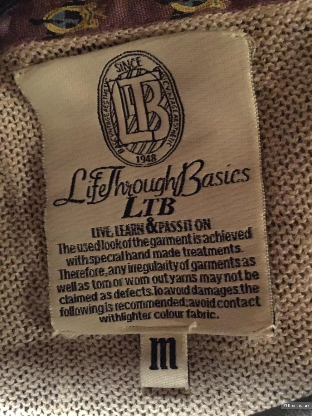 Пуловер марки LTB на М-L.