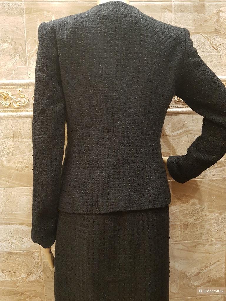 KASPER женский твидовый костюм. р.44