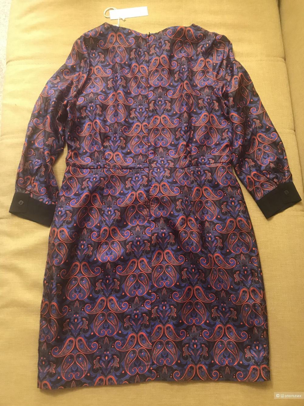 Шелковое платье от Virginie Castaway размер 3