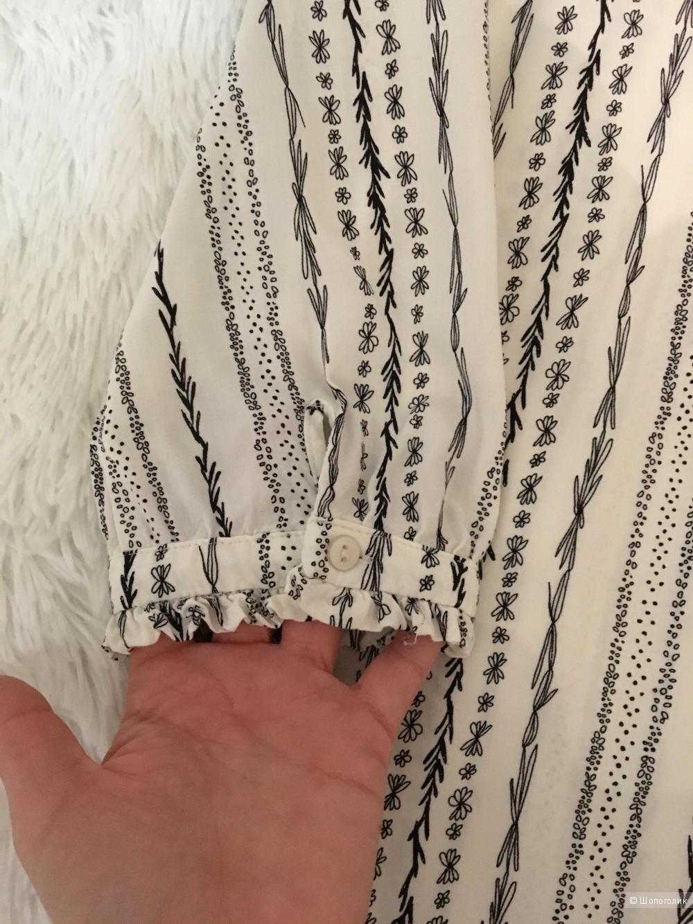 Комплект блузон Atmosphere, размер S+ Брюки Pull&Bear, размер S