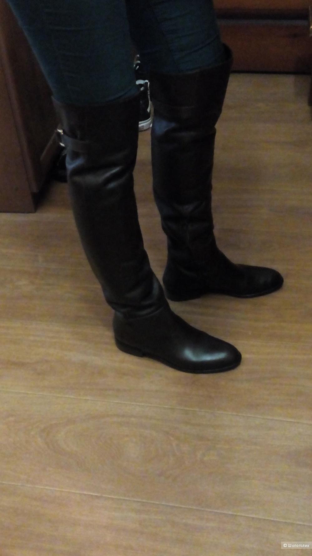 Сапоги - ботфорты, Alberto Gatti , 38 размер
