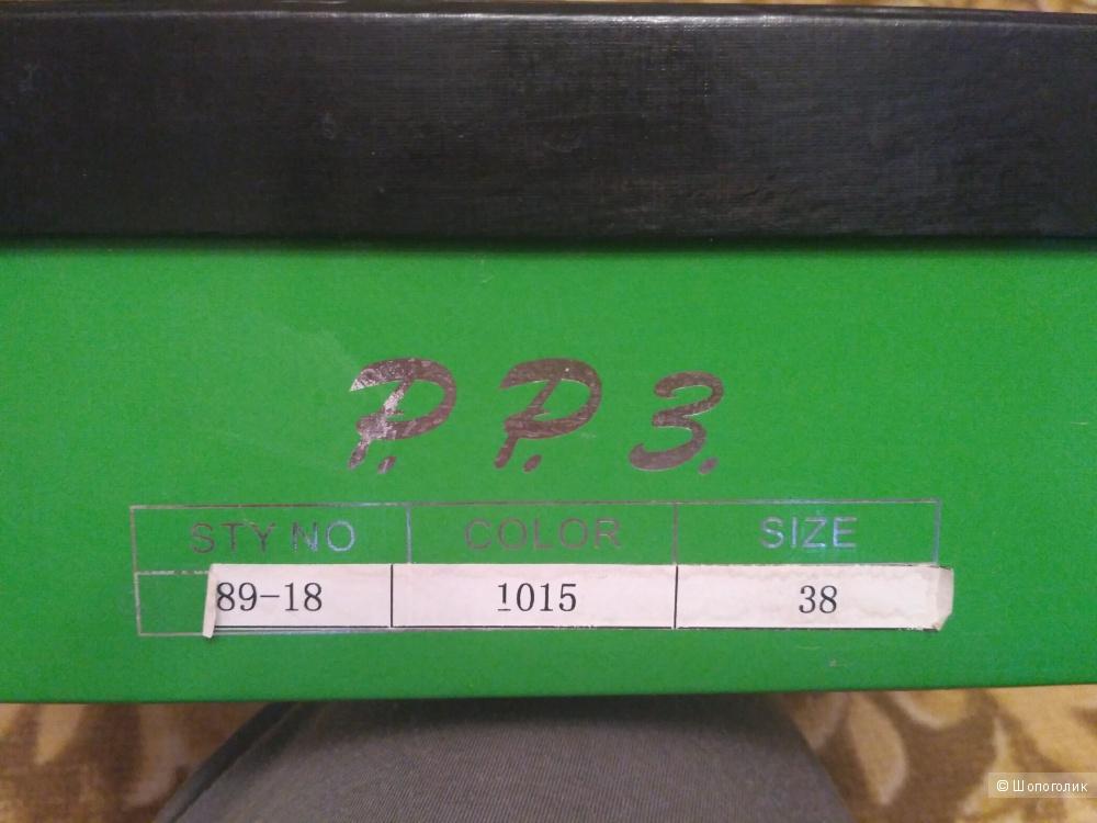 Ботильоны P.P.3. размер 38