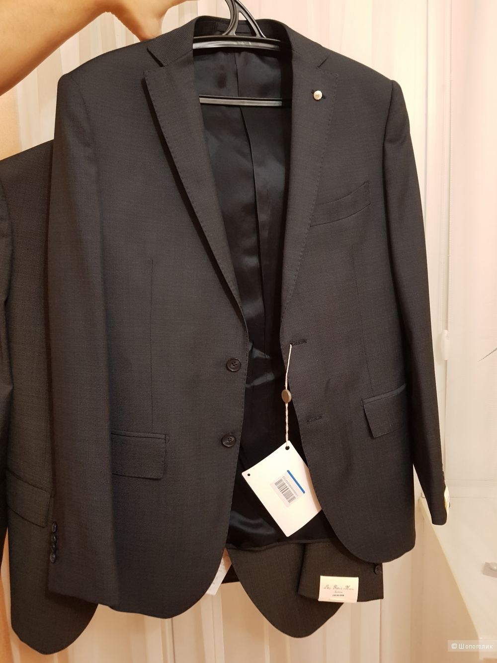 Мужской костюм LUIGI BIANCHI Mantova , размер 50 IT