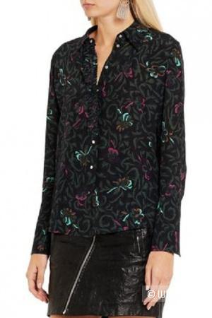 Шелковая блуза Topshop Unique 14UK