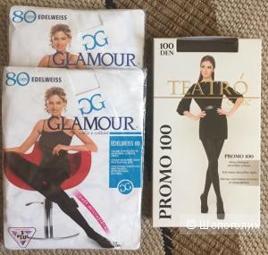 Колготки Glamour размер 4 L