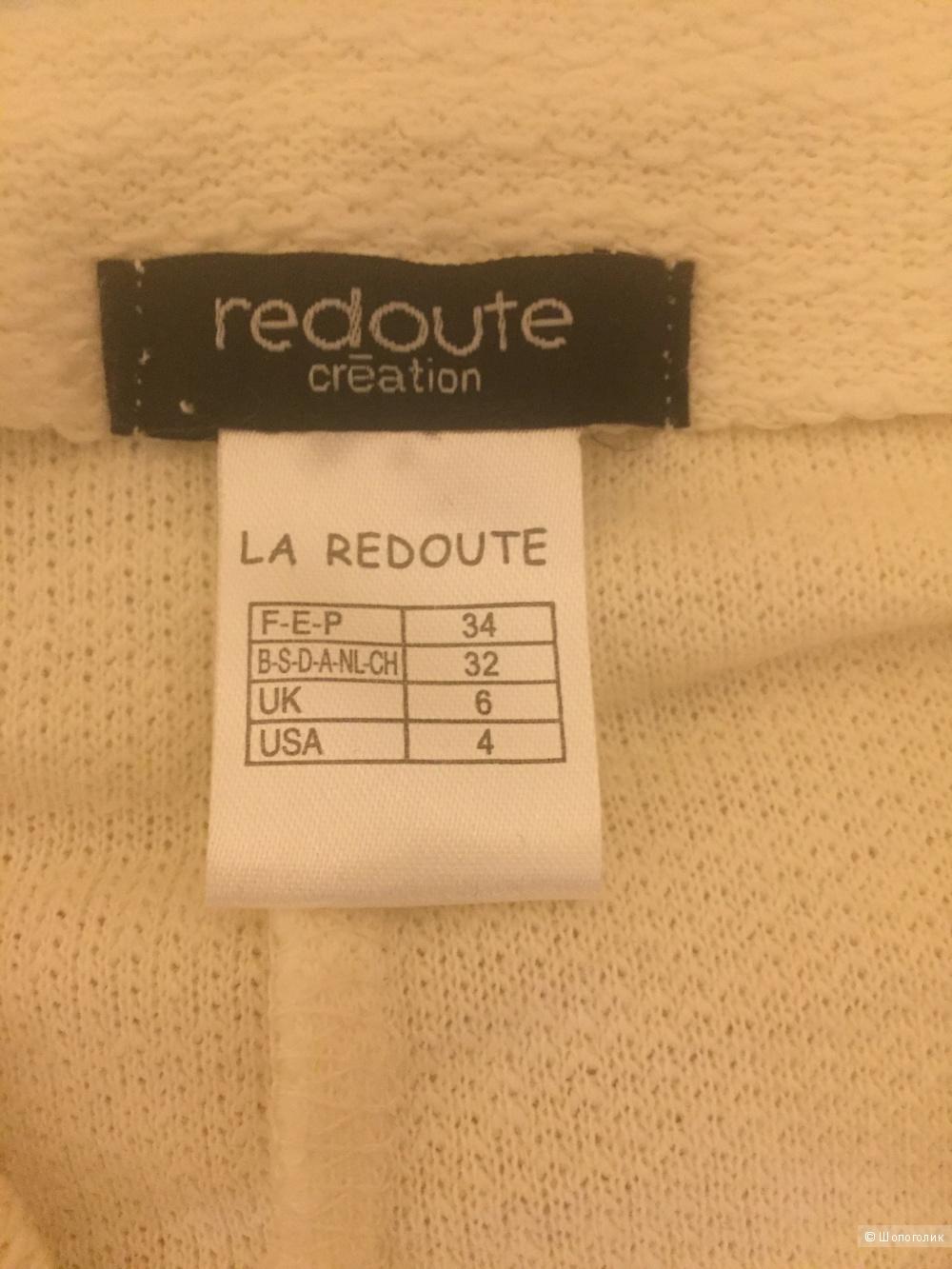 Хлопковый блейзер La redoute 34 размер