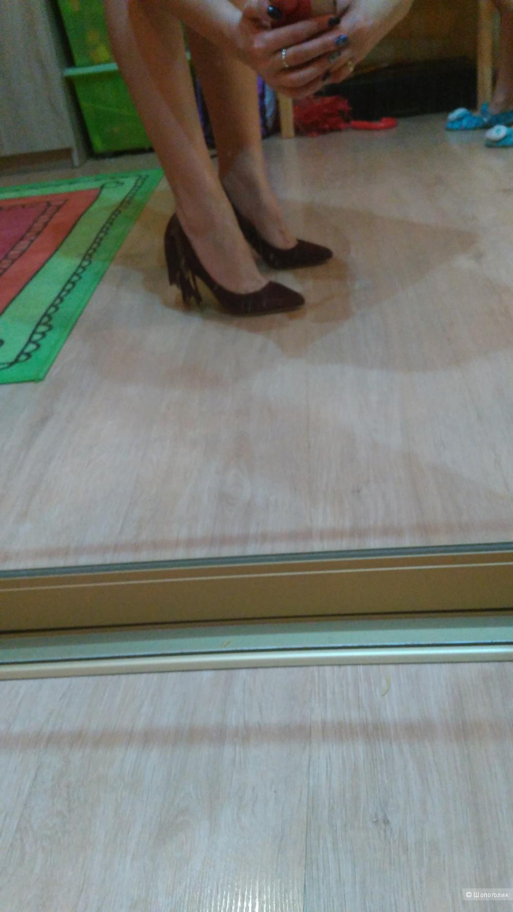 Замшевые туфли COLORS OF CALIFORNIA 37
