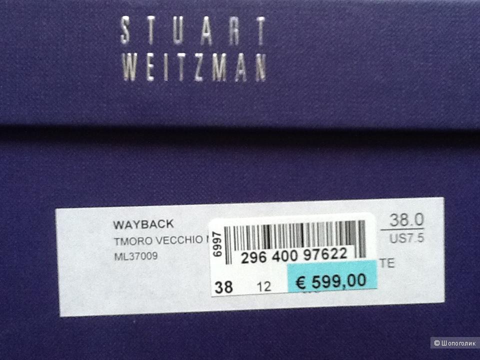 Сапоги STUART WEITZMAN,размер 38