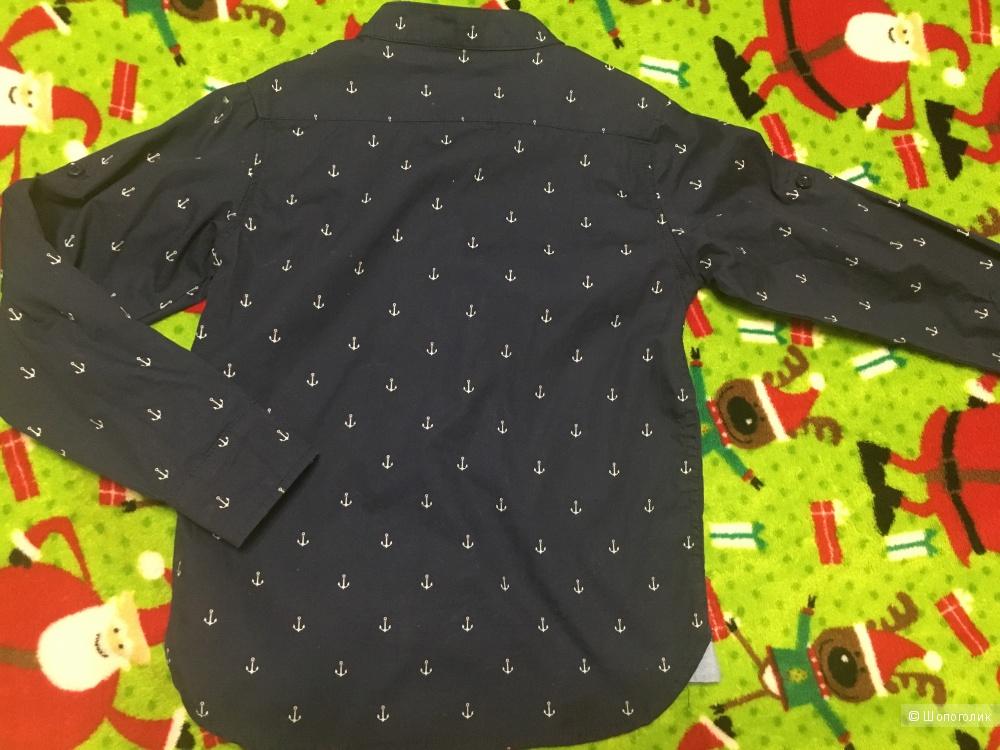 Рубашка на мальчика Zara Boys, размер 3-4, на рос. 4-6.