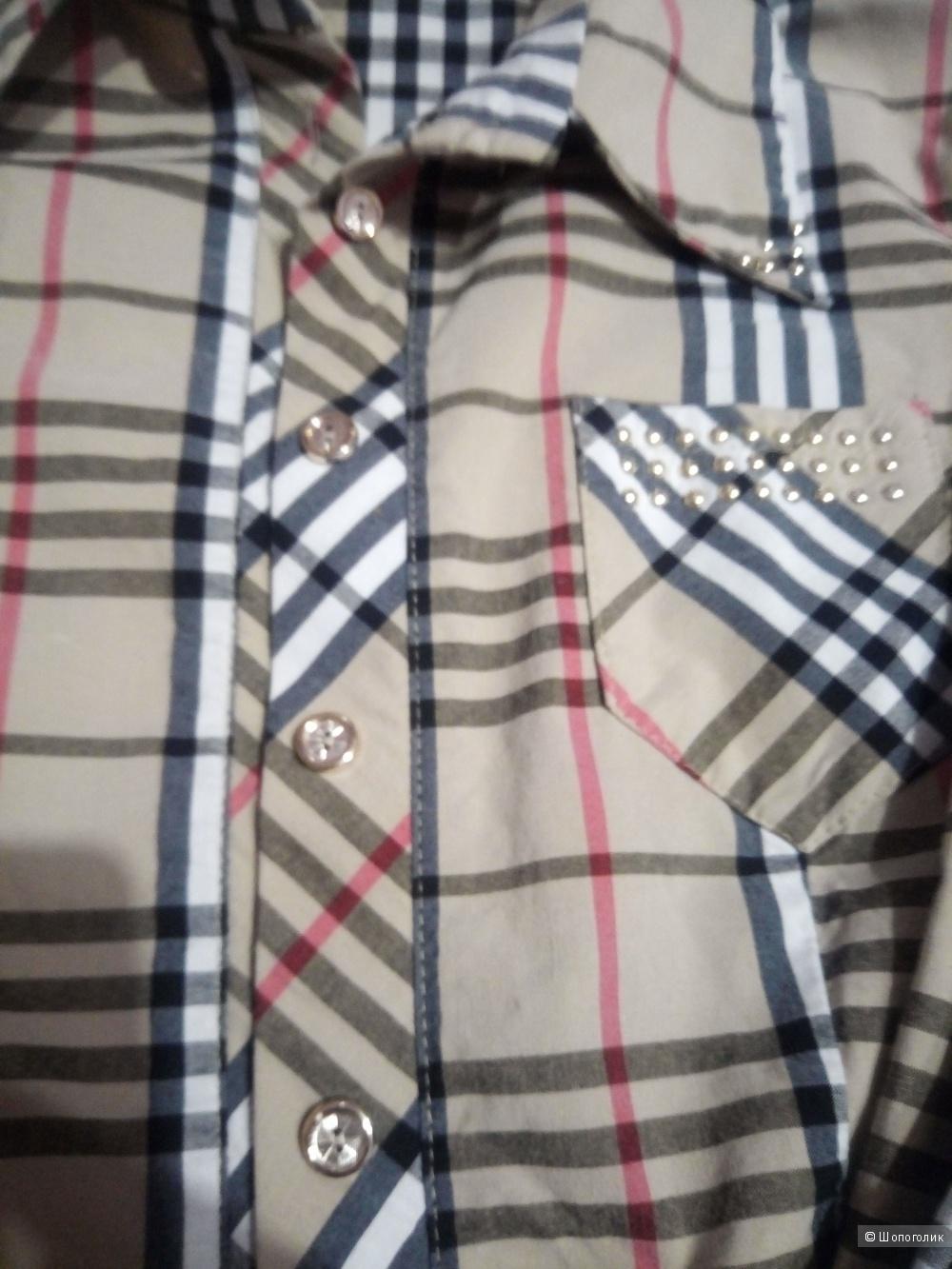 Рубашка барберри 44 размер