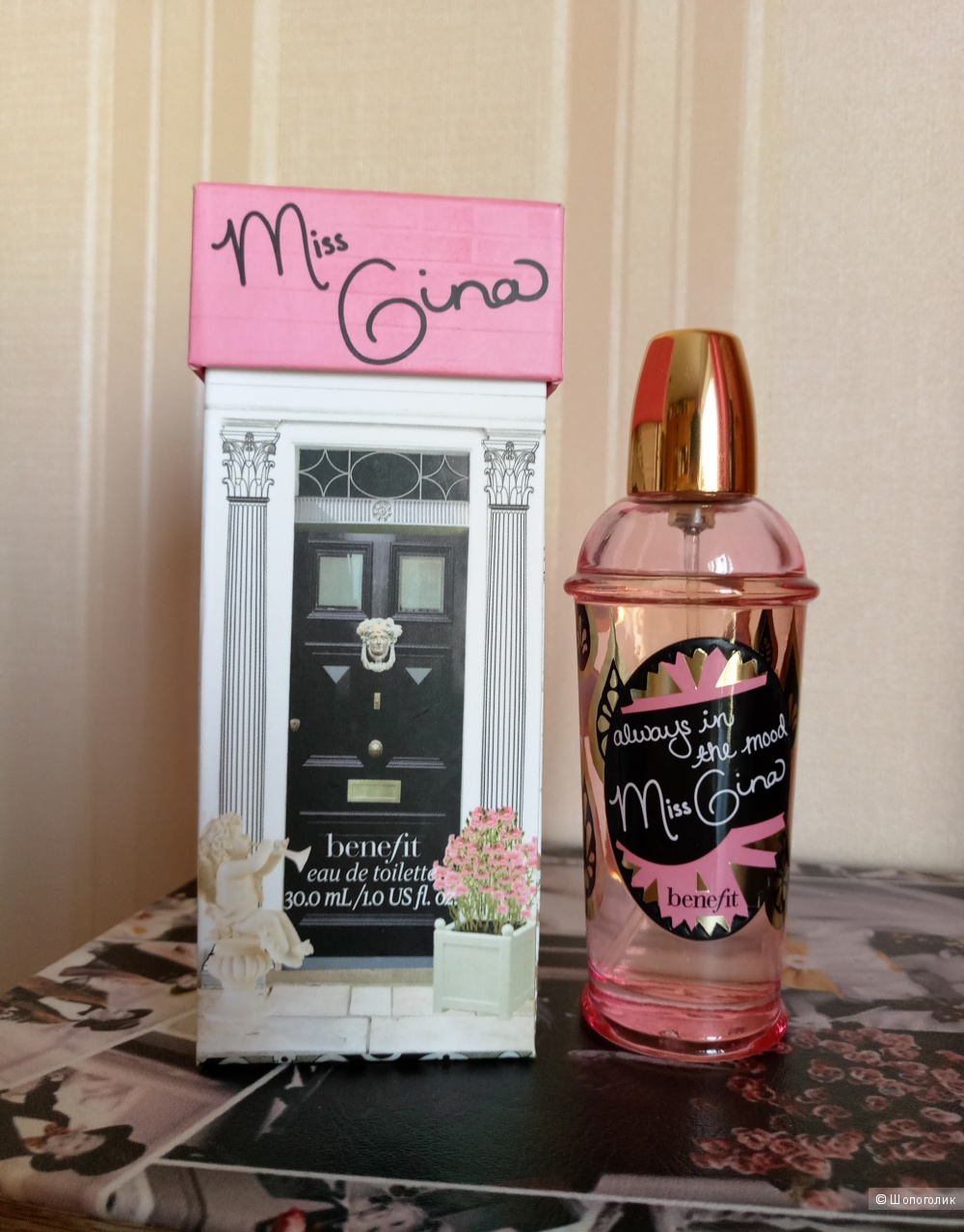 Туалетная вода Benefit Always In The Mood Miss Gina  30 мл
