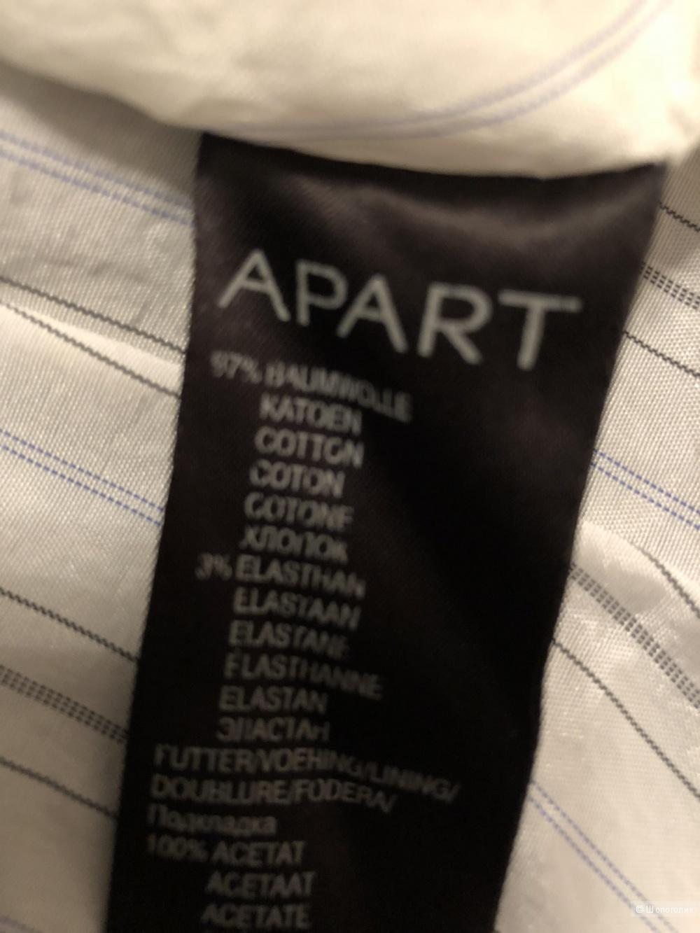 """Клубный пиджак из хлопка р. 44-46 бренд «APART"""""""
