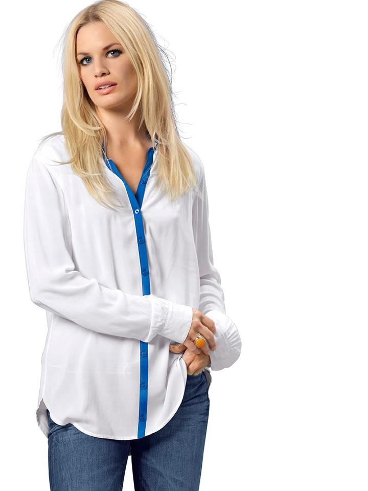 TOMMY HILFIGER: блузка, классика ,L