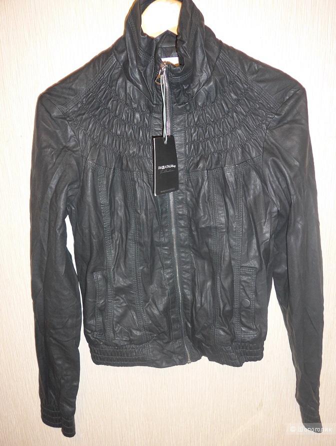Кожаная куртка Piazza Italia, L на 46-48