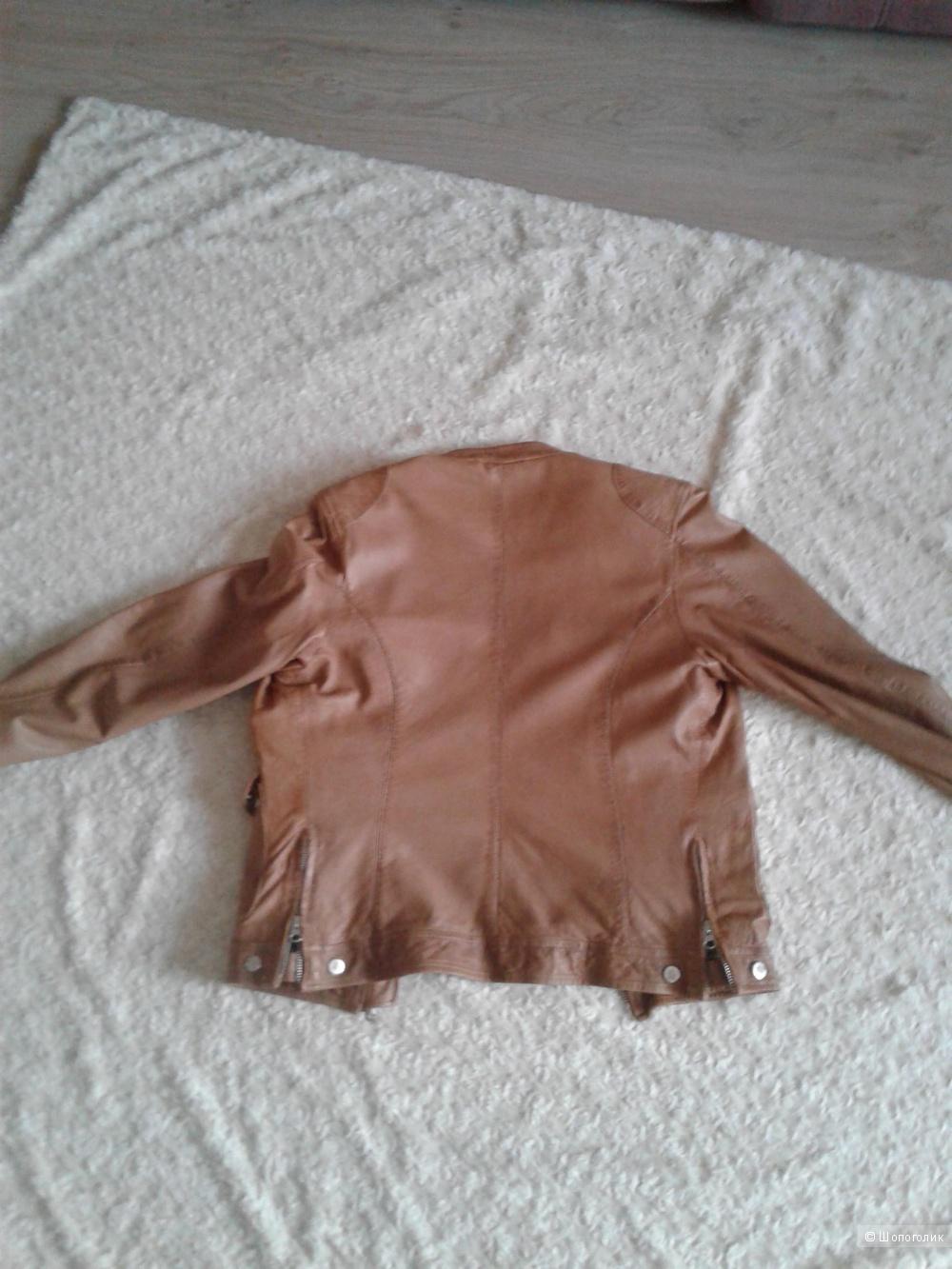Куртка кожаная Giorgio 44 -46  размер