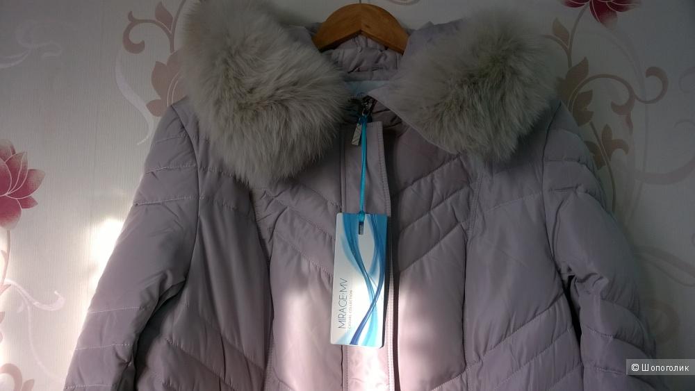 Пуховое пальто Mirage-mv 52-54 размер
