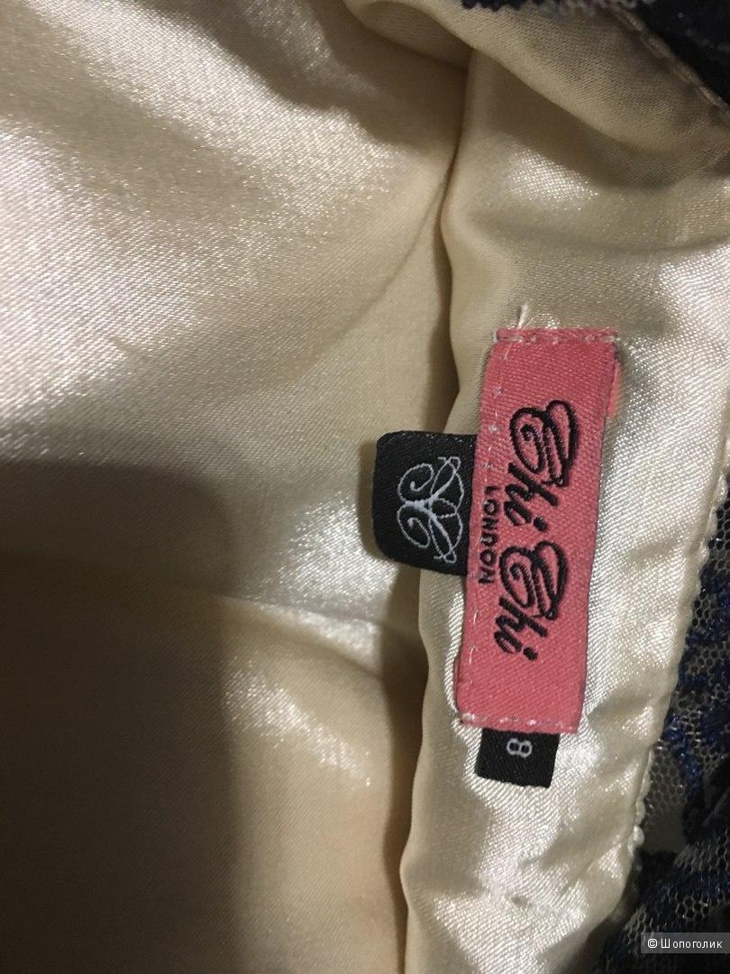 Кружевное платье Chi Chi London Premium UK8