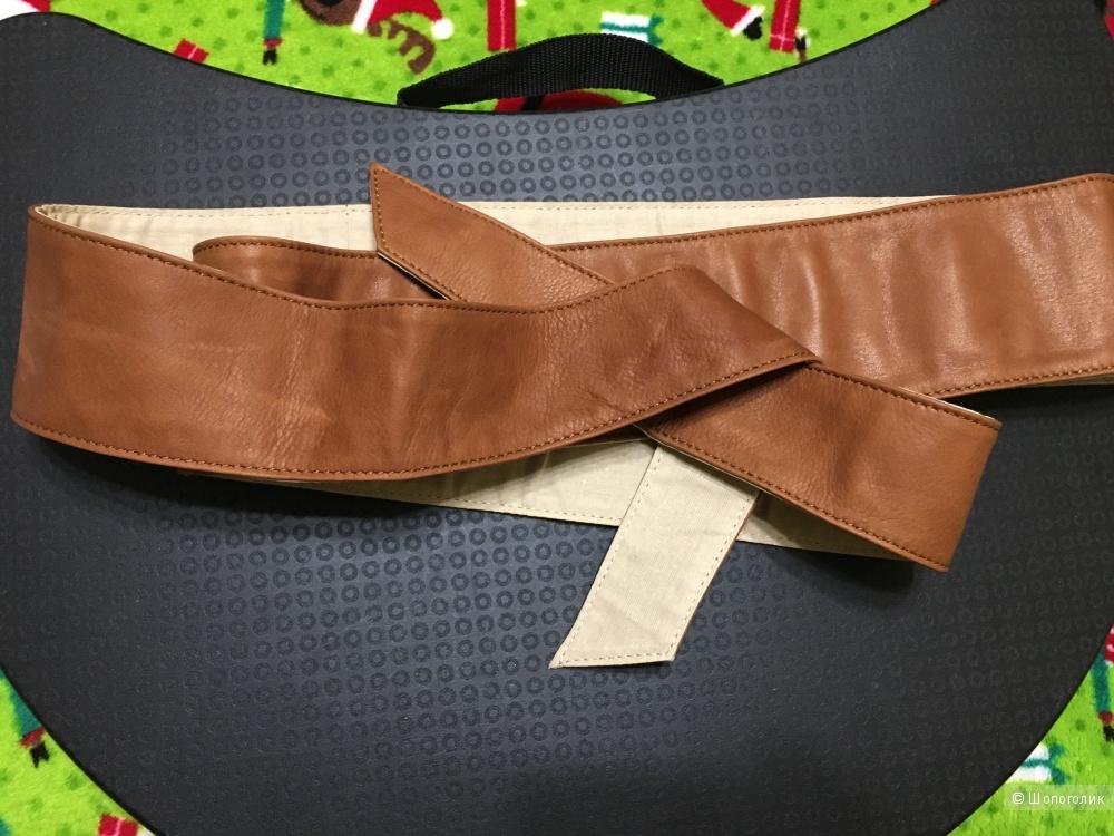 Кожаный пояс оби ATTIC AND BARN, размер M