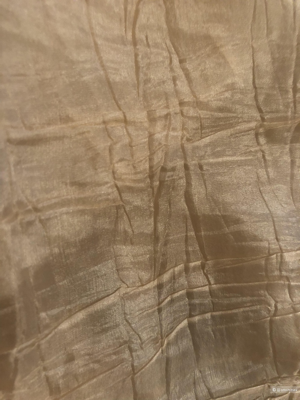 Палантин из жатого шелка бренд PENNYBLACK , длина 140, ширина 115