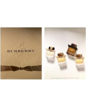 Burberry Miniature Gift Set: 2 x My Burberry 5ml EDP,  My Burberry 5ml EDT, Burberry Black Parfum 5ml