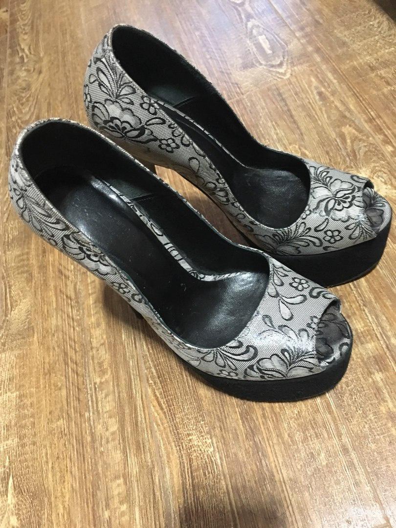 Кожаные туфли Paoletti 35 размер