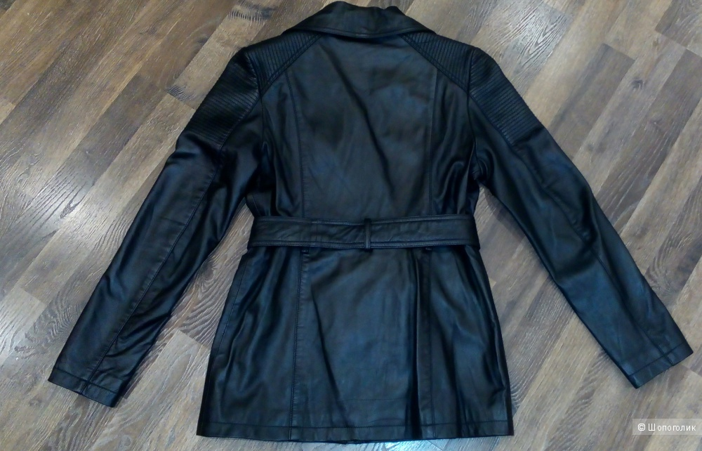 Кожаная куртка by very размер s