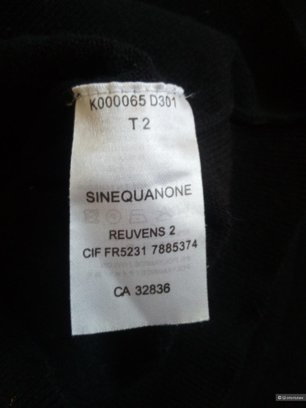 Блузка Sinequanone 46 размер