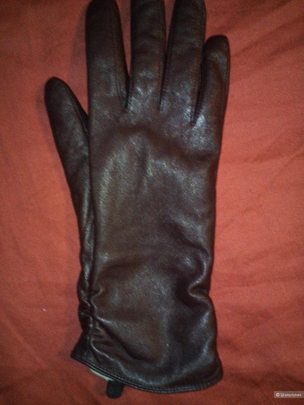 Перчатки кожаные Hofler, Финляндия, размер 8,5