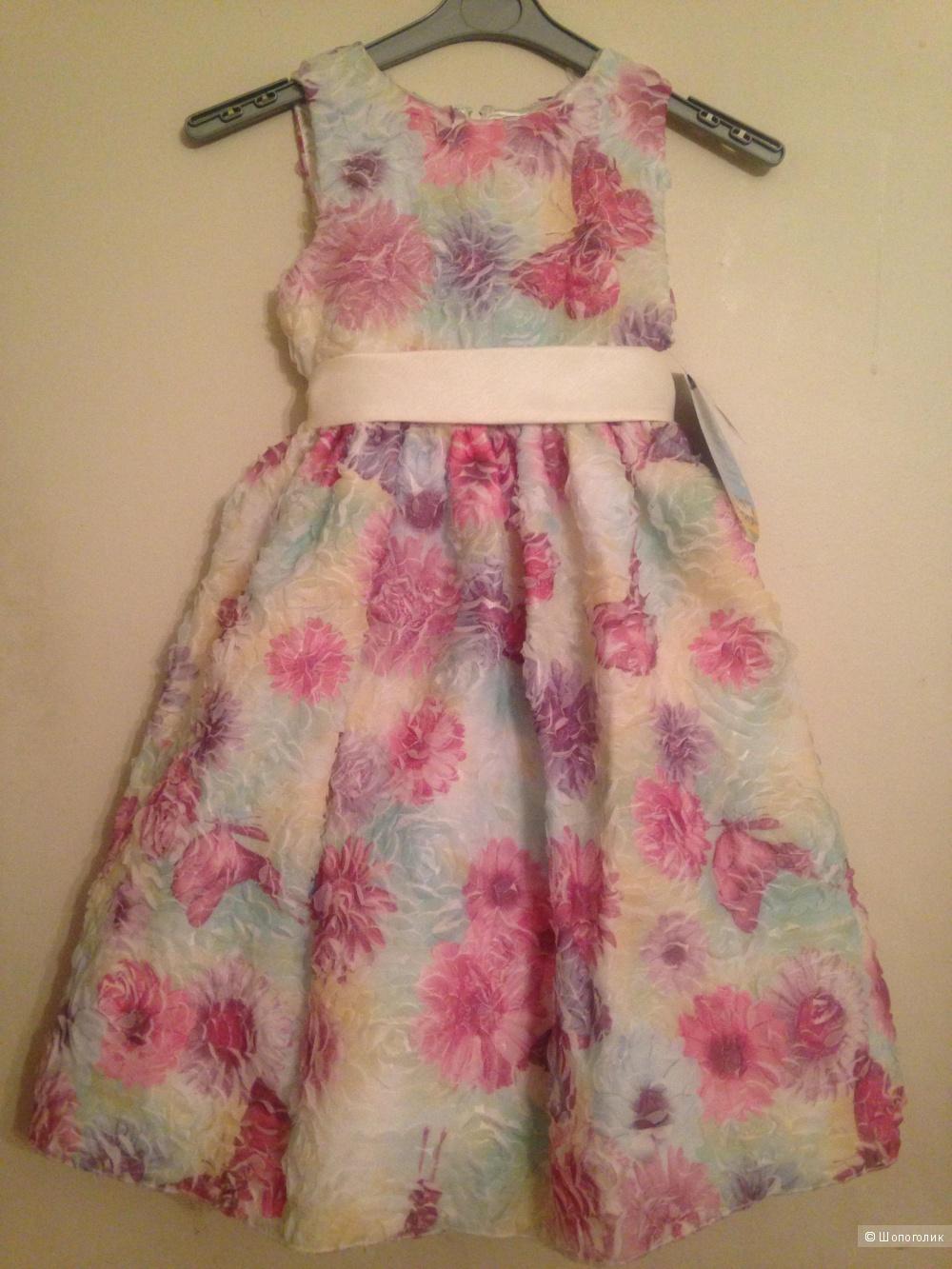 Праздничное платье для девочки American Princess, размер 7 US