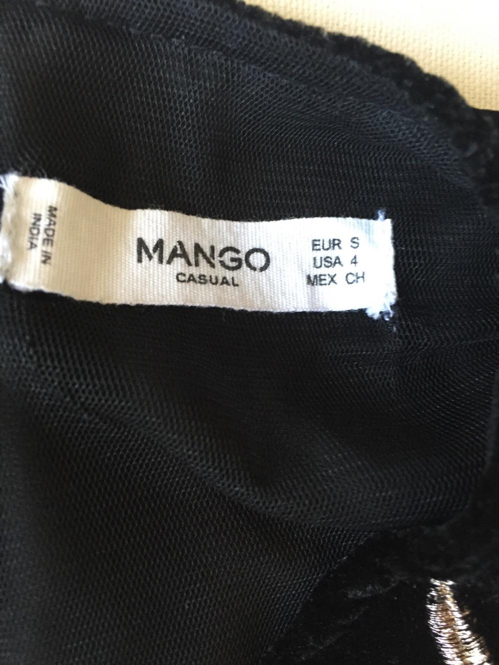 Топ Mango, размер S