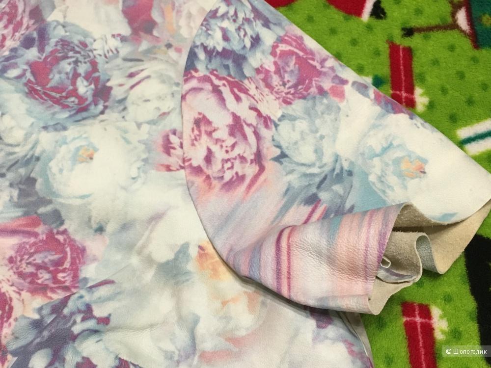 Кожаное платье Asos, размер 12UK, на рос. 46
