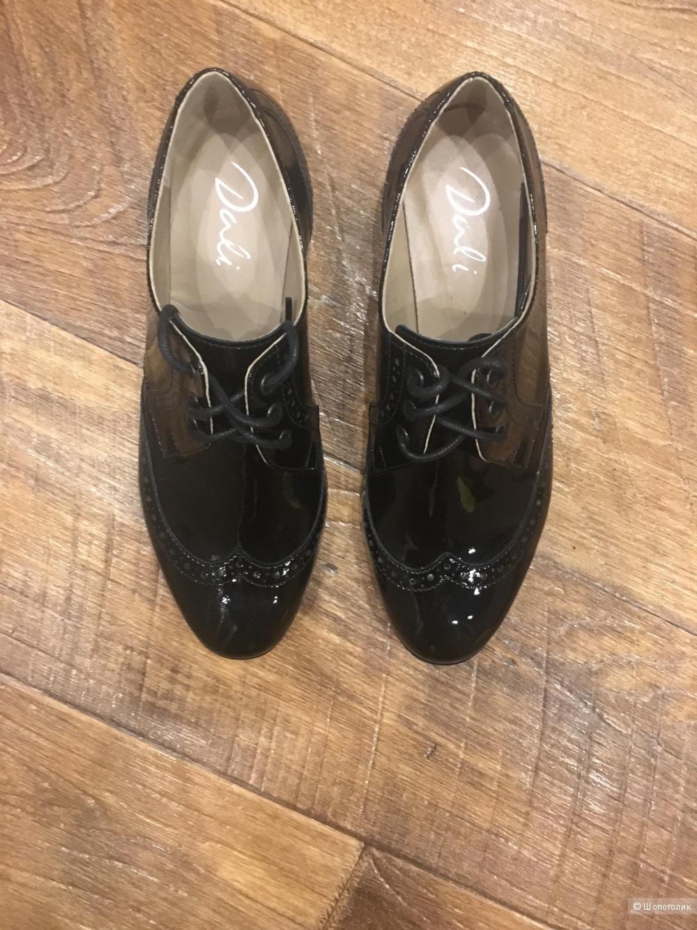 Ботинки-дерби,Dali 37 размер.