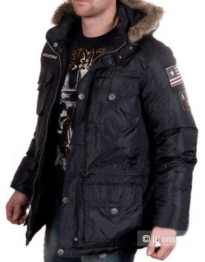Куртка на пуху Affliction 54-56 размер