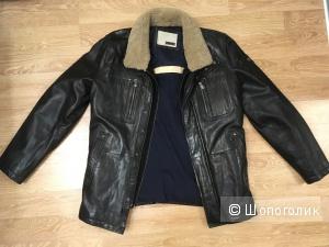 Новая кожаная куртка MILESTONE р. 50-52