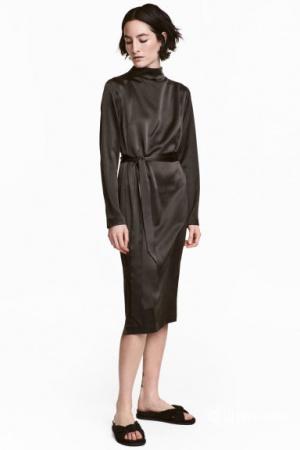 Шелковое платье HM 34 евро