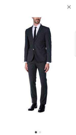 Мужской костюм Manuel  Ritz, размер 52 it
