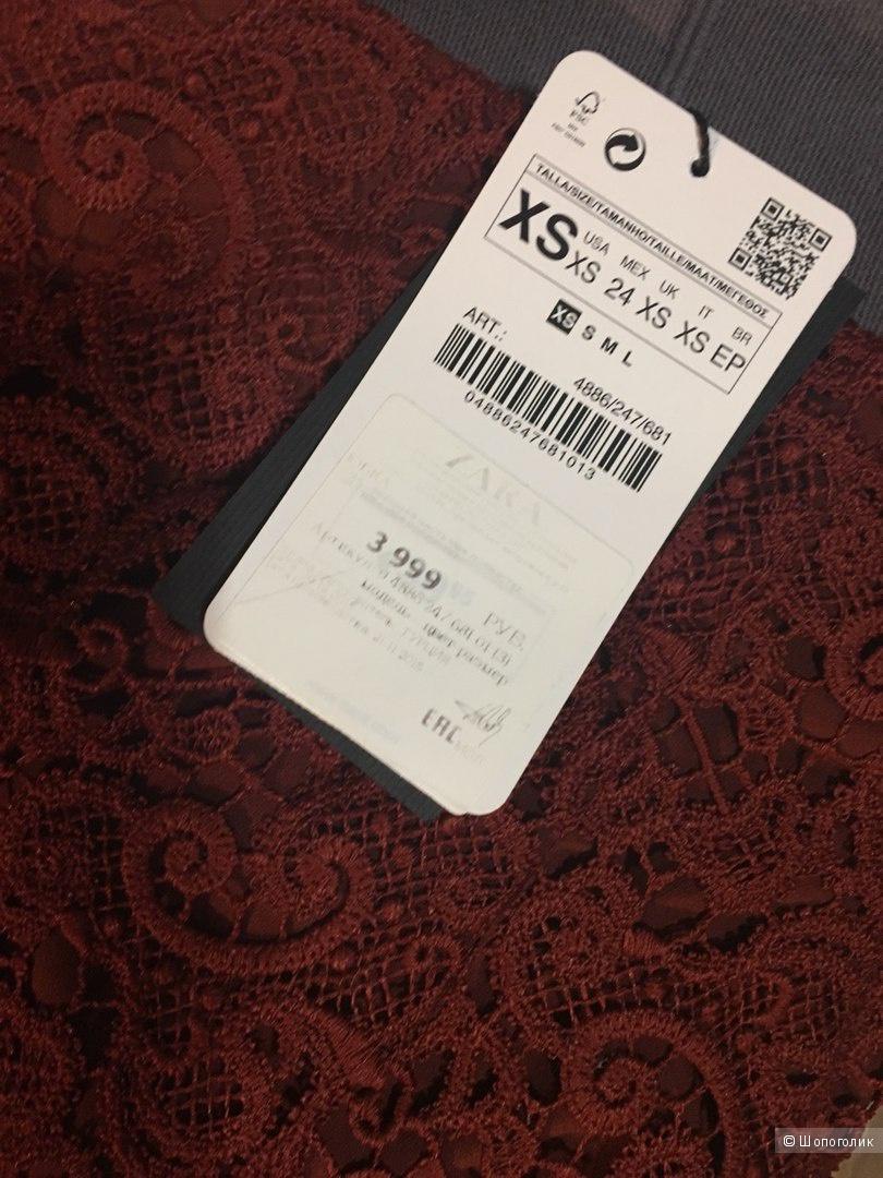 Кружевная юбка Zara XS